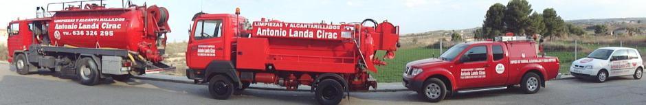 logotipo de DESATASCOS Y LIMPIEZAS ANTONIO LANDA SOCIEDAD LIMITADA.